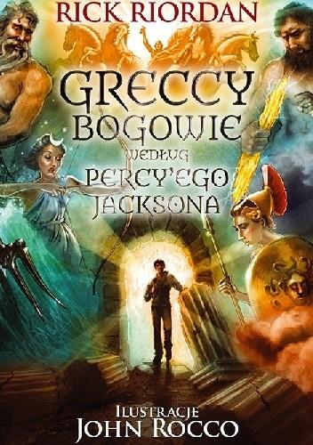 Okładka książki Greccy bogowie według Percy'ego Jacksona