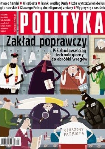 Okładka książki Polityka, nr 6 (3045)