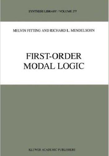 Okładka książki First-Order Modal Logic