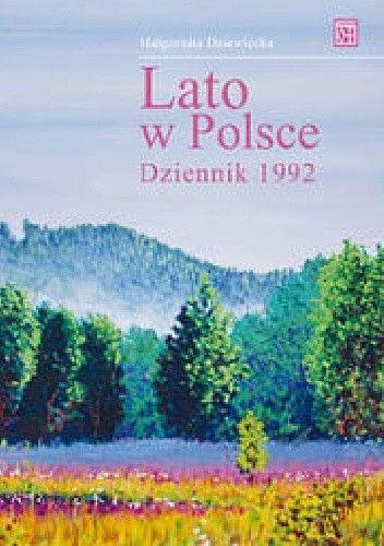 Okładka książki Lato w Polsce Dziennik 1992