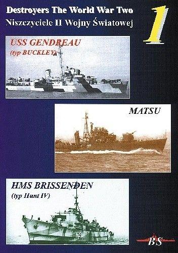 Okładka książki USS Gendreau  Matsu  HMS Brissenden