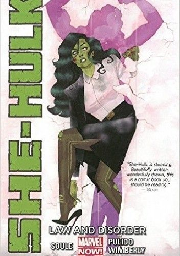 Okładka książki She-Hulk Volume 1: Law and Disorder