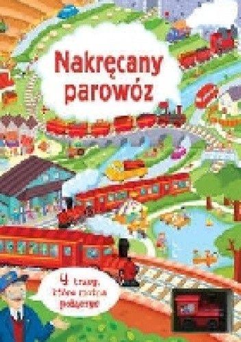 Okładka książki Nakręcany parowóz