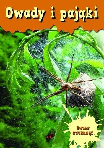 Okładka książki Owady i pająki