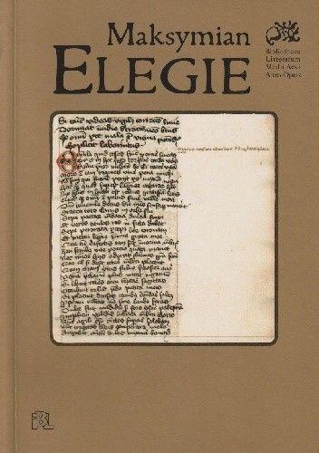 Okładka książki Elegie