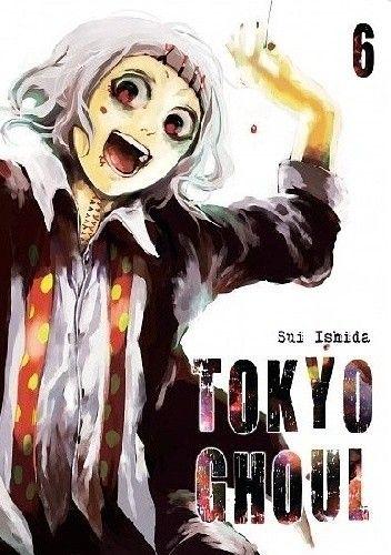 Okładka książki Tokyo Ghoul tom 6