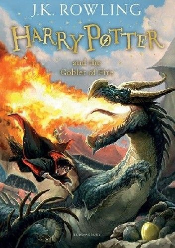 Okładka książki Harry Potter and The Goblet of Fire