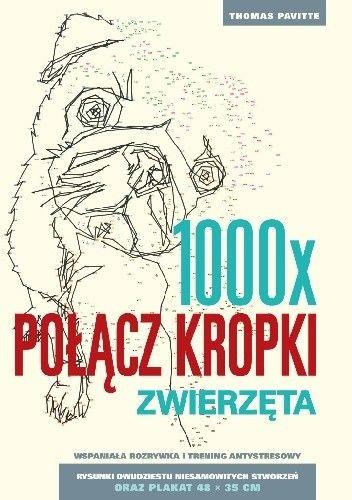 Okładka książki 1000x POŁĄCZ KROPKI.ZWIERZĘTA