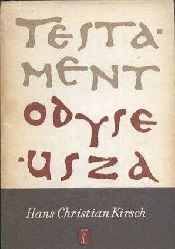 Okładka książki Testament Odyseusza