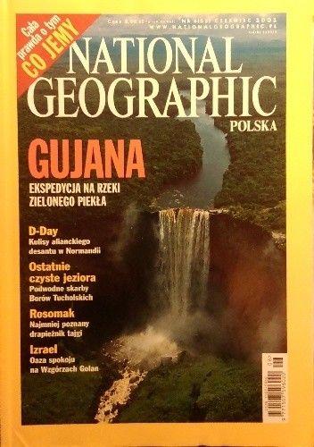 Okładka książki National Geographic 06/2002 (33)