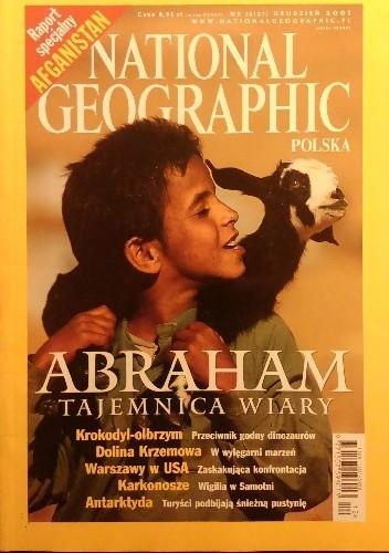 Okładka książki National Geographic 12/2001 (27)