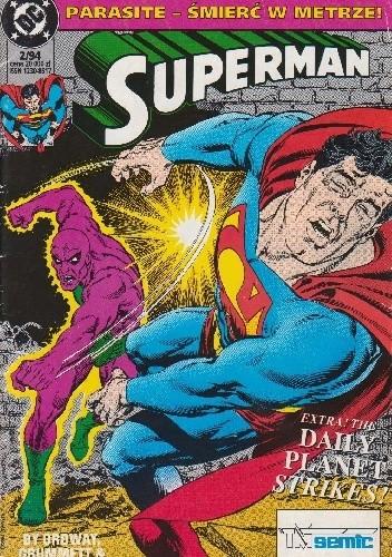 Okładka książki Superman 2/1994