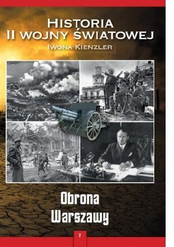 Okładka książki Obrona Warszawy