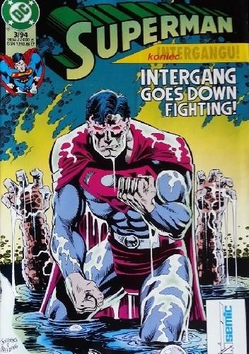 Okładka książki Superman 3/1994