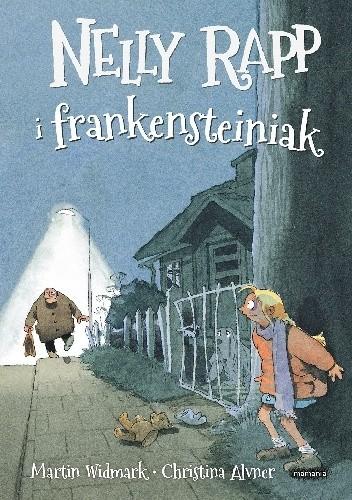 Okładka książki Nelly Rapp i frankensteiniak