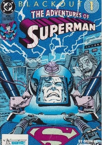 Okładka książki Superman 4/1994