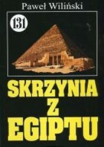 Okładka książki Skrzynia z Egiptu