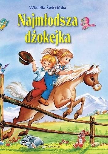 Okładka książki Najmłodsza dżokejka