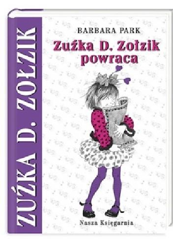 Okładka książki Zuźka D. Zołzik powraca