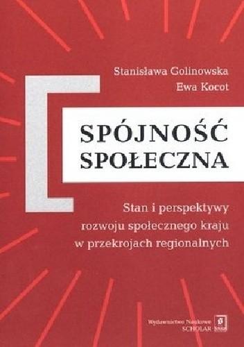 Okładka książki Spójność społeczna