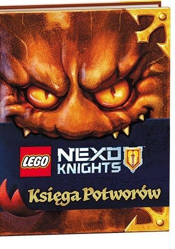 Okładka książki Lego Nexo Knights. Księga Potworów