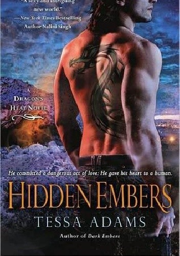 Okładka książki Hidden Embers