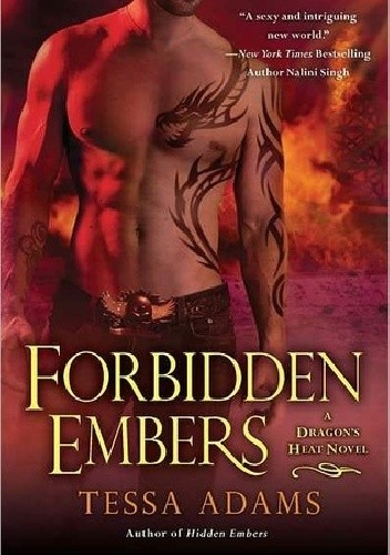 Okładka książki Forbidden Embers