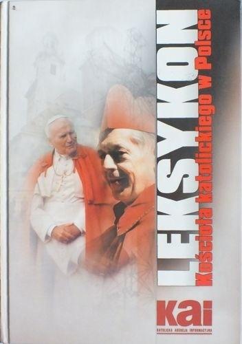 Okładka książki Leksykon kościoła katolickiego w Polsce