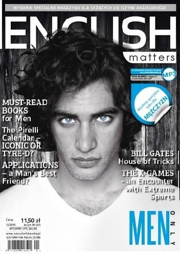Okładka książki English Matters: Men Only, 12/2015 (Wydanie specjalne)