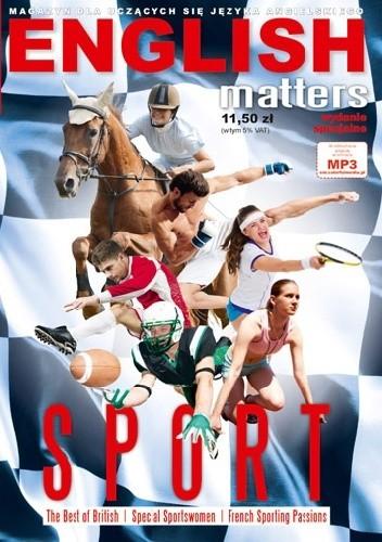 Okładka książki English Matters: Sport, 7/2013 (Wydanie specjalne)