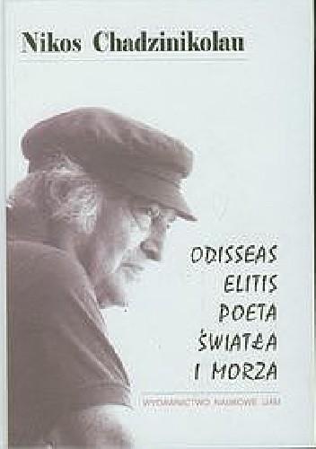 Okładka książki Odisseas Elitis. Poeta światła i morza
