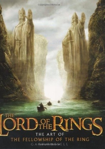 Okładka książki The Lord of the Rings: The Art of The Fellowship of the Ring
