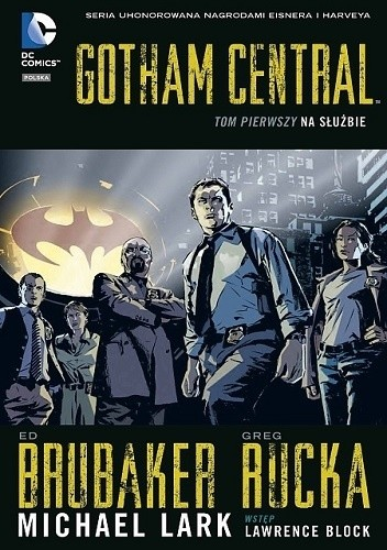 Okładka książki Gotham Central: Na służbie