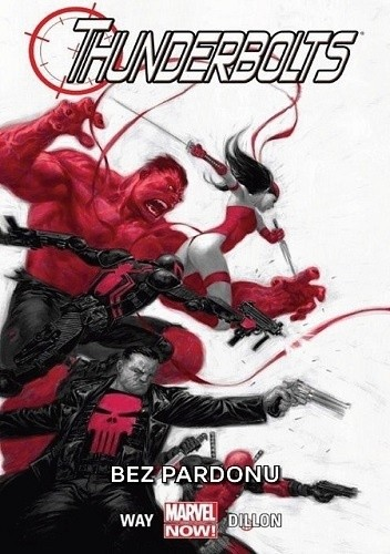 Okładka książki Thunderbolts: Bez pardonu