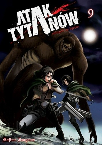 Okładka książki Atak Tytanów tom 9
