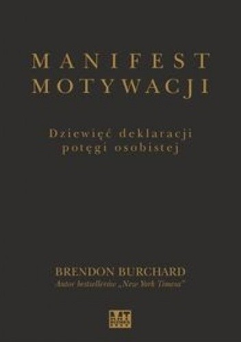 Okładka książki Manifest motywacji