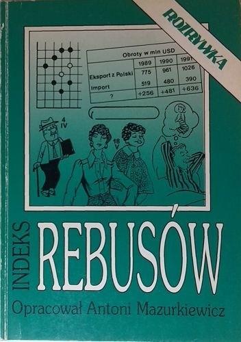 Okładka książki Indeks rebusów z lat 1980-1993