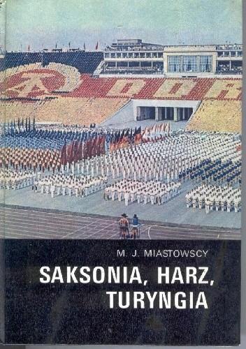 Okładka książki Saksonia, Harz, Turyngia
