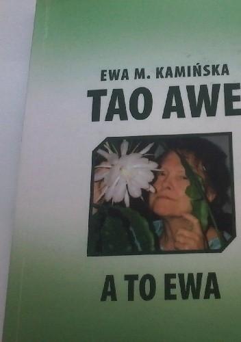 Okładka książki TAO AWE <-> A TO EWA