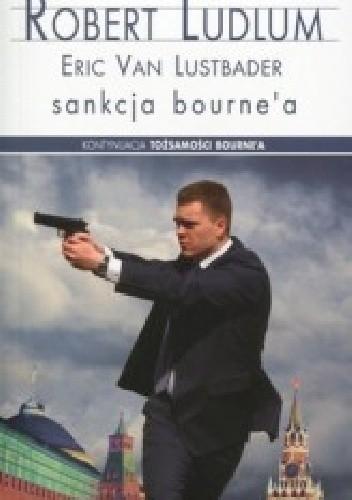 Okładka książki Sankcja Bourne'a