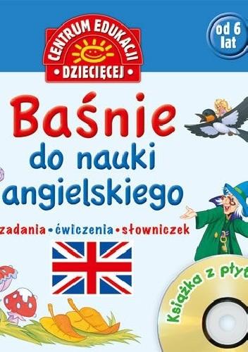 Okładka książki Baśnie do nauki angielskiego.