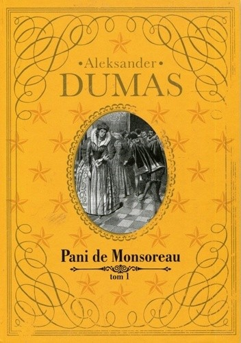 Okładka książki Pani de Monsoreau t.1