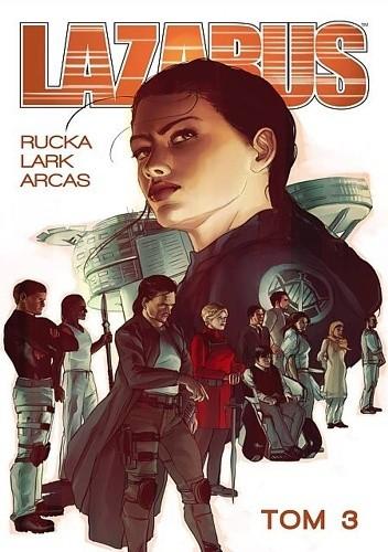 Okładka książki Lazarus #3: Konklawe