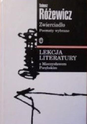 Okładka książki Zwierciadło. Poematy wybrane