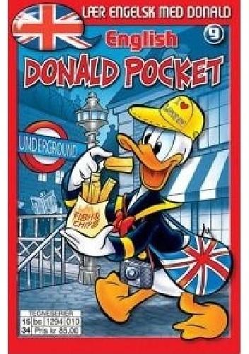Okładka książki Lær engelsk med Donald 9. English Donald Pocket