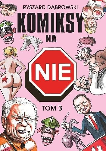 Okładka książki Komiksy na NIE, tom 3