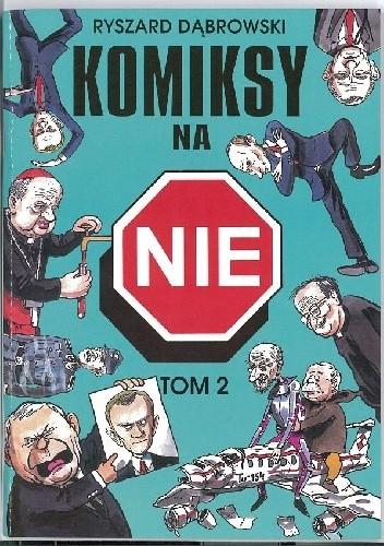 Okładka książki Komiksy na NIE, tom 2