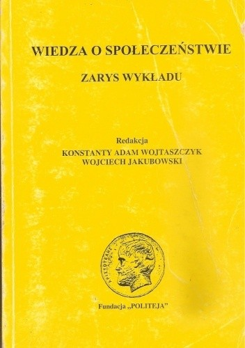 Okładka książki Wiedza o społeczeństwie. Zarys wykładu