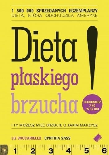 Okładka książki Dieta płaskiego brzucha!