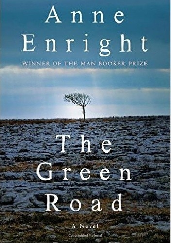 Okładka książki The Green Road
